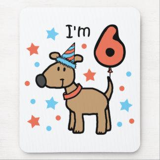 I'm Six Doggie Mouse Pad