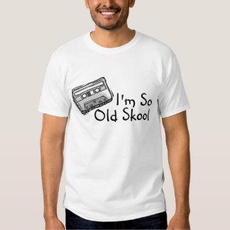 Im Skool tan viejo Playera