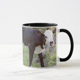 """I'm sleepy"" calf coffee mug"