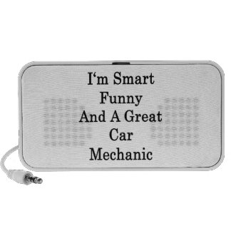 I'm Smart Funny And A Great Car Mechanic PC Speakers