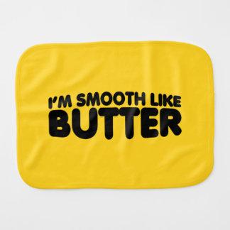 I'm Smooth Like Butter Burp Cloth