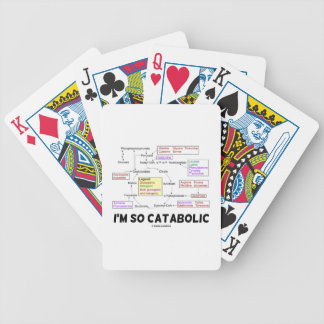 I'm So Catabolic (Proteinogenic Amino Acids) Bicycle Playing Cards