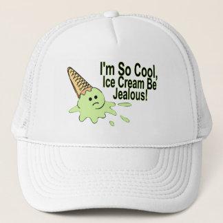 I'm So Cool Ice Cream Be Jealous Trucker Hat