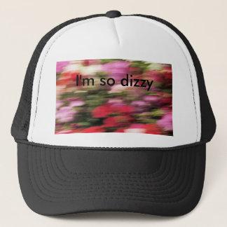 I'm so dizzy trucker hat