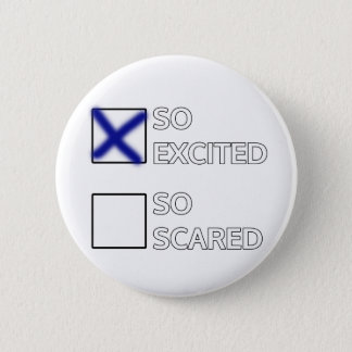 I'm so excited. button