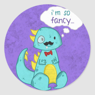 I'm So Fancy sticker