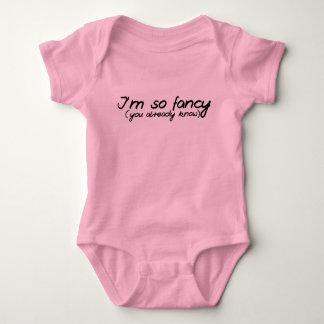 I'm so fancy you already know baby bodysuit