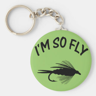 I'M SO FLY KEYCHAIN