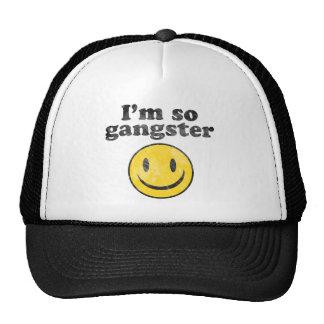 I'm So Gangster Smiley Trucker Hat