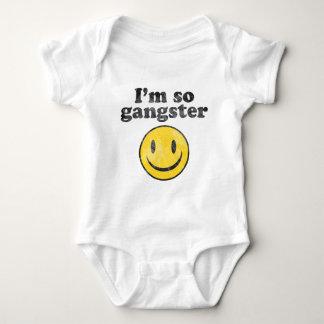 I'm So Gangster Smiley Infant Creeper