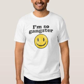 I'm So Gangster Smiley T-shirt