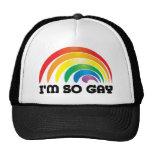 I'm So Gay Mesh Hats