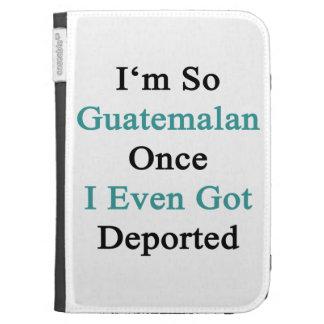 I'm So Guatemalan Once I Even Got Deported Kindle Keyboard Cases