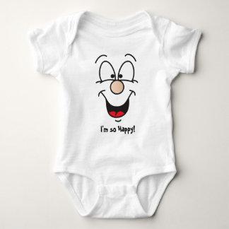 I'm so Happy | Happy Face Baby Bodysuit