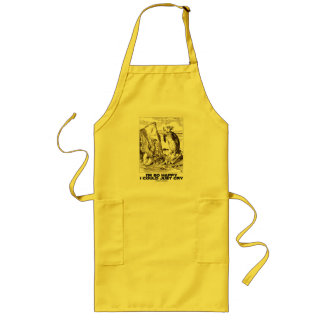I'm So Happy I Could Just Cry (Alice Mock Turtle) Long Apron