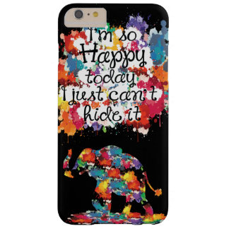 I'm so happy today Case-Mate Barely There iPhone 6 Barely There iPhone 6 Plus Case