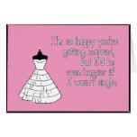 I'm So Happy You're Getting Married Greeting Card