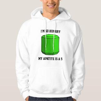 I'm So Hungry, My Apatite is a 5 (Light) Hooded Sweatshirt