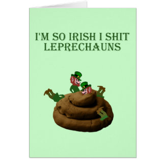 I'm so Irish Card