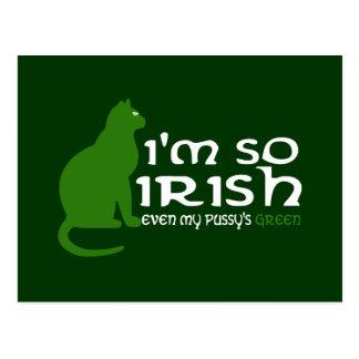 I'm so Irish Postcard