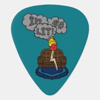I'm so Lit! Guitar Pick