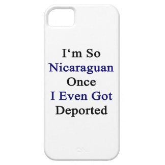I'm So Nicaraguan Once I Even Got Deported iPhone 5 Cover