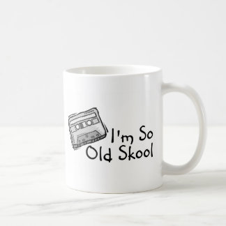 Im So Old Skool Classic White Coffee Mug