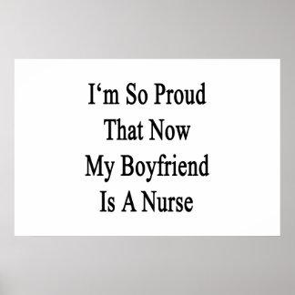 I'm So Proud That Now My Boyfriend Is A Nurse Poster