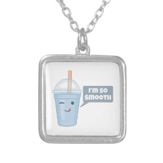 I'm So Smooth Silver Plated Necklace