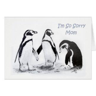 I'm So Sorry Mom Card