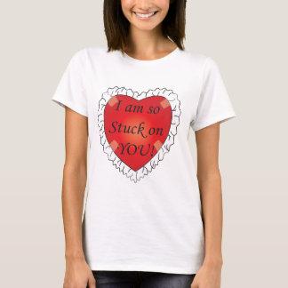 I'm so Stuck On You Valentine T-Shirt