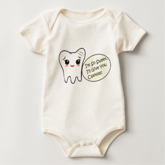 I'm So Sweet, I'll Give You Cavities! Baby Bodysuit