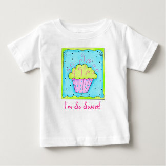 I'm So Sweet  Toddler Cupcake Tee Shirt