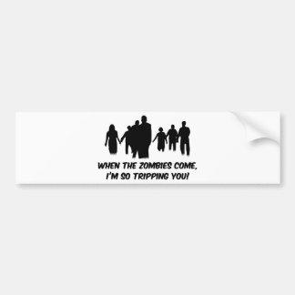 I'm So Tripping You Bumper Sticker