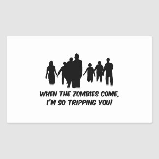 I'm So Tripping You Rectangular Sticker
