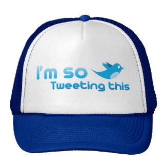 I'm so Tweeting This Trucker Hat