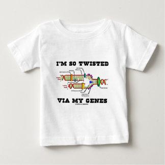 I'm So Twisted Via My Genes (DNA Replication) Baby T-Shirt