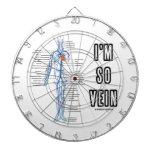 I'm So Vein (Circulatory System Anatomy Veins) Dartboards