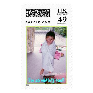 I'm so whitely cool! stamps