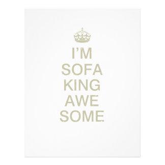I'm sofa king... flyer