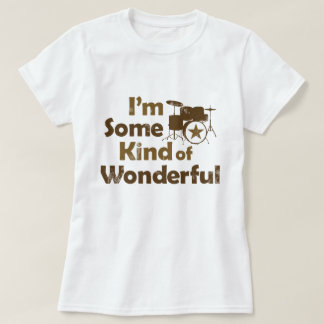 I'm Some Kind of Wonderful Retro Graphic T-Shirt