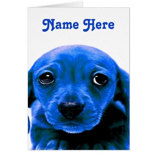 I M Sorry Blue Sad Puppy Dog Eyes Zazzle Com