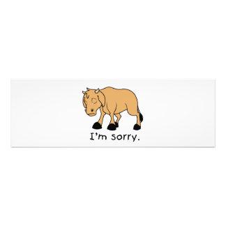 I'm Sorry Brown Crying Sad Weeping Calf Mug Watch Photo Print