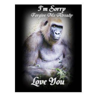 I'm Sorry,Love You_ Postcard