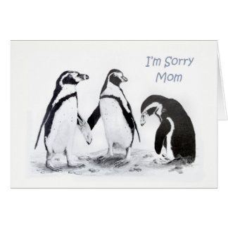 I'm Sorry Mom Card