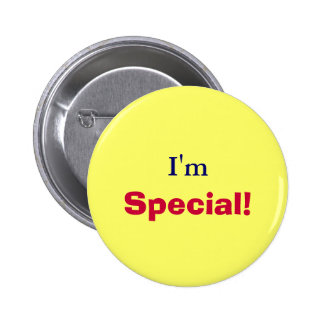 I'm, Special!-Button