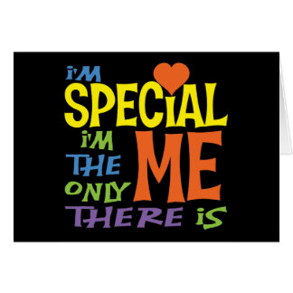 I'm Special Card