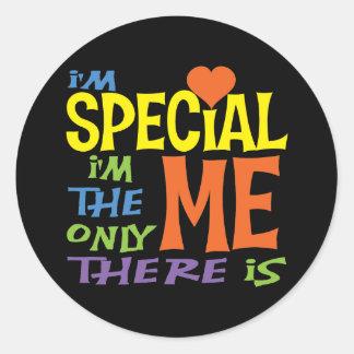 I'm Special Classic Round Sticker