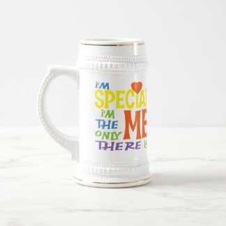I'm Special Kids Shirts Beer Stein