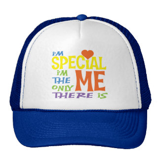 I'm Special Kids Shirts Mesh Hats